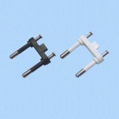 Two Pins electrical Plug Insert