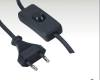 VDE Power Cord with switch