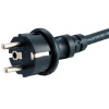 IP44 plug with H07RN8-F rubber cable