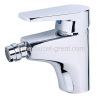 Single Lever Handle Bidet Faucet With Brass Body