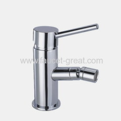 Bidet set single-lever faucet