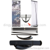 V Shape Single Pole Banner Stand