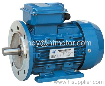 Single Phase Capacitor-Run Induction Motor