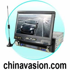 1-DIN Car GPS Navigation with DVD Player