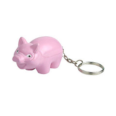 Pig Stress Reliever Key Chain