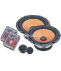 6.5inch Two-way Car Component Speakers With Crossover