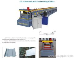 373 Joint-Hidden Wall Panel Forming Machine