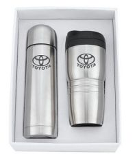 Stainless Steel Thermos and Cup
