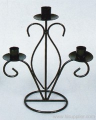 3Heads Metal Candle Holder
