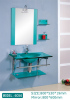 Glass Basin cabinet