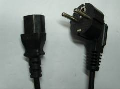 Schuko Plug with IEC C13 connector