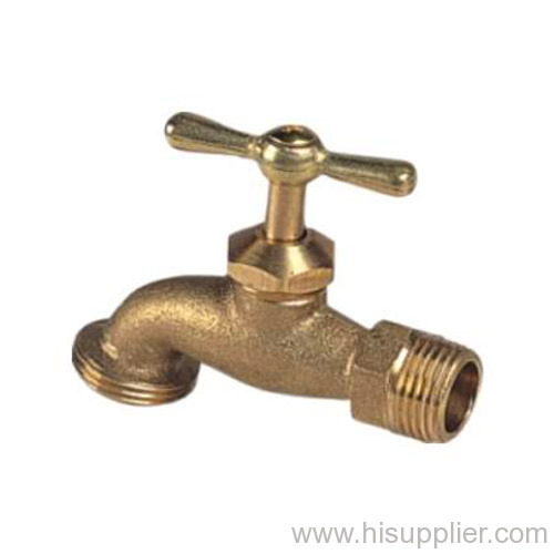 1/2'' & 3/4'' Brass Bibcock 3/4'' Hose Outlet 125WOG