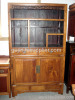classical old bookshelf cabinet