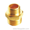 3/4''-1'' Brass Male /Male reducing Coupling