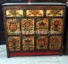 Antique reproduction tibetan cabinet