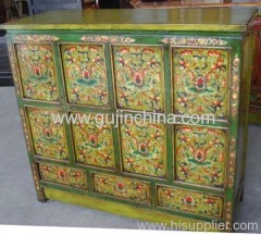 Tibetan reproduction cabinet
