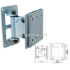 "15""-22"" LCD/Plasma Silver Swivel Wall Bracket"