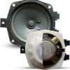 FLUSH - MOUNT SPEAKER FOR CAR STEREO coaxial dual-cone speaker