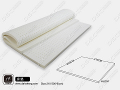 Natural topper latex mattress by DSC