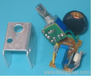 Electronic units of lighting dimmers