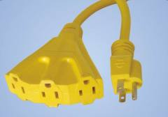 3-Conductor 3-Outlet Extension Cords