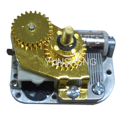 Center Rotating Shaft Mini Musical Movement