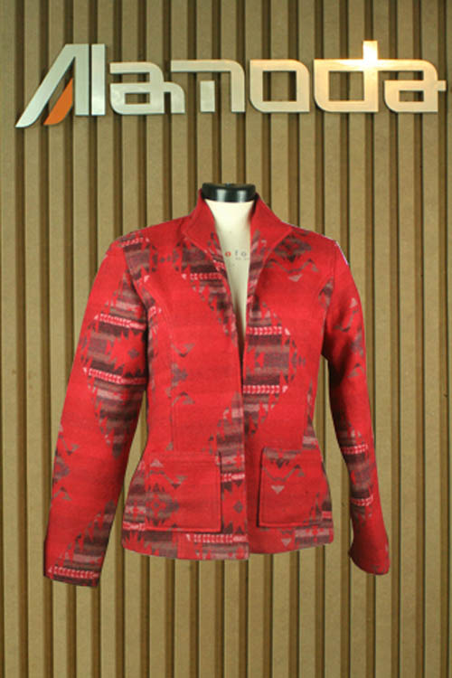 Ladies Cotton printed jacket