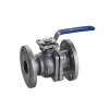 2-pc flange ball valve full port ISO-direct mountiong pad