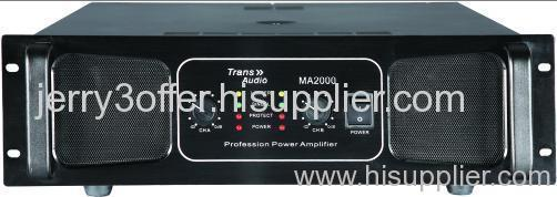 TRANS-AUDIO power amplifier