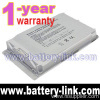 "Silver 4400mah Laptop Battery For 12"" Apple Powerbook G4 Series"