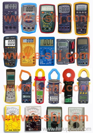 multimeter, clamp meter, digital multimeter, analog multimeter