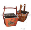 Tibetan antique furniture basket