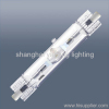 Double ended metal halide lamp