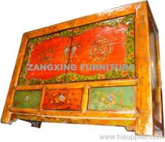 Mongolia carved Cabinet