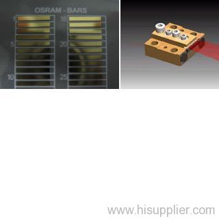 Conductively Cooled Laser Diode Bar (CS-Mount) for solid-state pumping