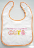 Embroidered Baby's Bib
