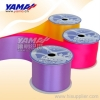 100% Polyester Single Face Satin Ribbon /  silk satin ribbon / poly ribbons / Polyester satin tape