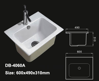 Deep Sink Large Washbasin Sinks Lavatory