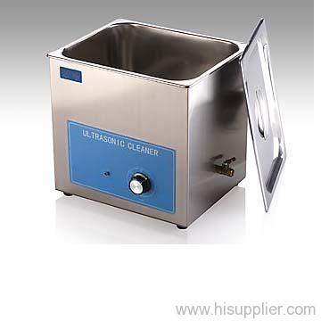 Mechanical control mini ultrasonic cleaner