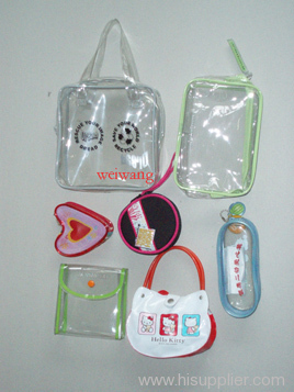 PVC pouch ,EVA pouch ,TPU pouch , cosmetic bag