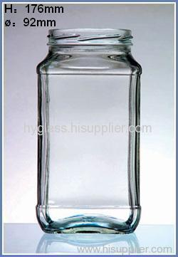 glass bottle, glass perfume bottle, glass jar
