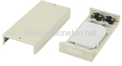 Metal 12 fiber FTTH Indoor Optical Termination Box