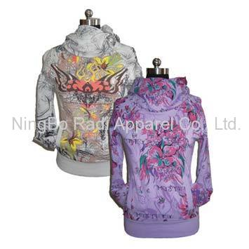 Ladies printed Jacket