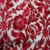 Flower Cut Pile Sofa Fabric