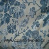 Blue Flower Sofa Fabric