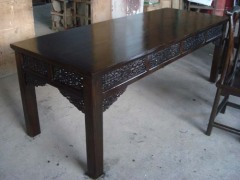 Antique carved Dining table
