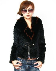 Ladies' Rabbit Fur Coat