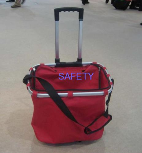 Double rod trolley bag