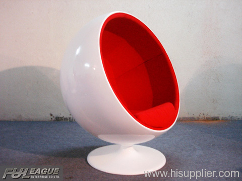 BALL CHAIR ,FIBERGLASS LOUNGE CHAIR