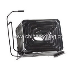 rolled-plate condenser black painting for freezer and showcase